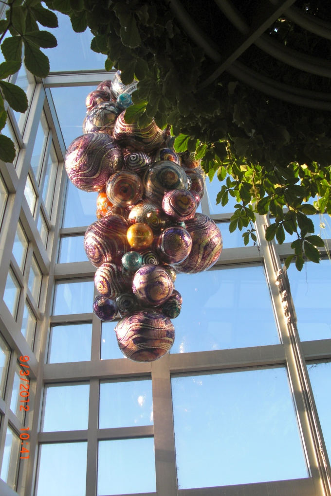 Playful glass art by Dale Chihuly