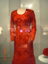 Laura Bush's Inaugural dress.