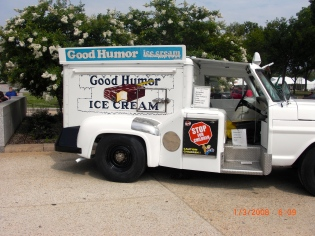 "I remember the ""Good Humor Man"" coming to my neighborhood!"