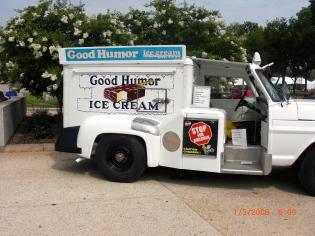 "I remember the ""Good Humor Man"" coming to my neighborhood!"