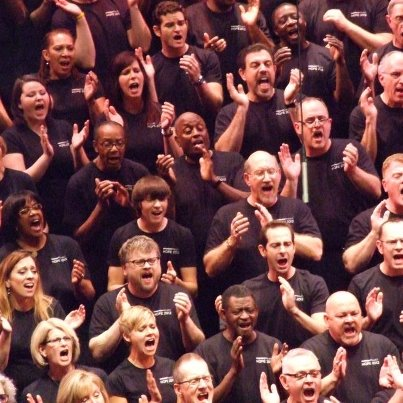 Members of The Harmony Project singing with heart and soul!  From the Bill Pearsol album