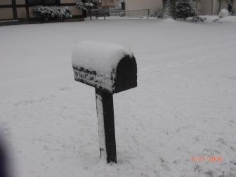 My mailbox.