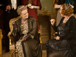 Maggie Smith and Shirley Maclaine in English series, Downton Abbey.