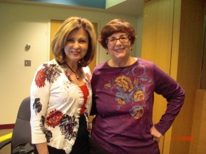Colleen Marshall and me
