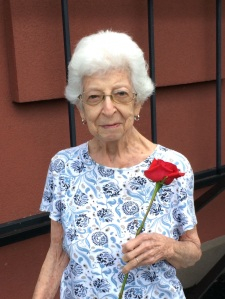 A beautiful, positive woman. my 93-year old Aunt Ruth