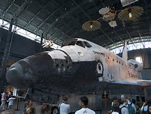 The Discovery Space Shuttle