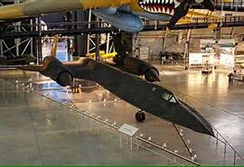 SR 70. A spy plane.