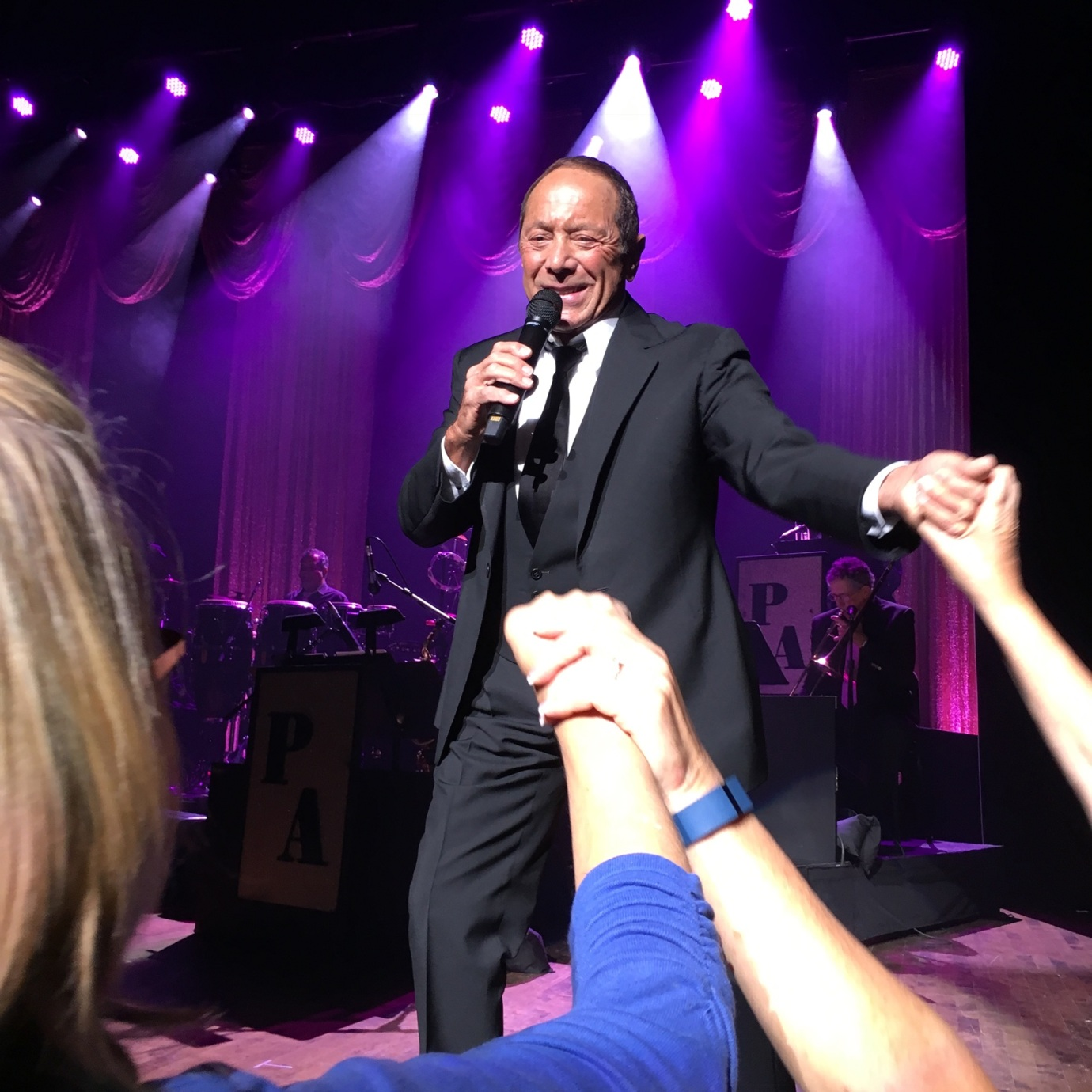 Paul Anka at the Palace Theater in Columbus, Ohio.